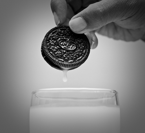 If it's not about the elements, could we use oreos and milk?